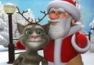 Talking Tom ve Noel Baba